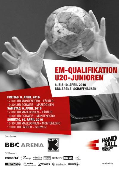 U20 EM Qualifikation im April in Schaffhausen