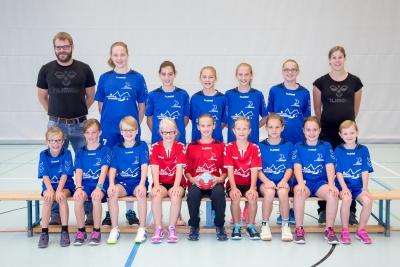 Die FU14-Juniorinnen gewannen gegen die SG Zürisee mit 22:6. (Bild: Esther Heinzer)