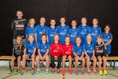 Die FU14-Mädchen beenden die Inter-Finalrunde auf dem ersten Tabellenplatz. (Bild: Esther Heinzer)