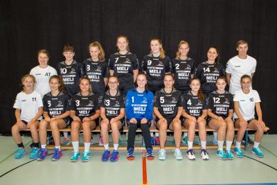 Im letzten Spiel dieser Saison besiegten die Muotathalerinnen die SG Zürisee mit 22:27. (Bild: Esther Heinzer)