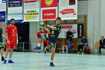 Ivo Betschart erwischte einen sehr guten Tag und erzielte im Spiel gegen Dagmersellen neun Treffer aus neun Versuchen. (Bild: Andy Scherrer)