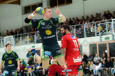 Die Muotathaler, hier mit Andreas Schelbert am Ball, wollen Revanche und gegen Leader Muri zwei Punkte holen. (Bild: Andy Scherrer)