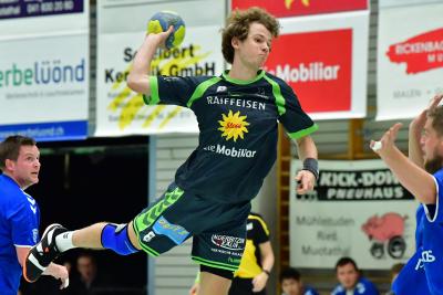 Bereits letzte Saison traf der KTV, hier mit Janik Nauer am Ball, zweimal auf Dagmersellen und er konnte beide Spiele für sich entscheiden. (Bild: Andy Scherrer)
